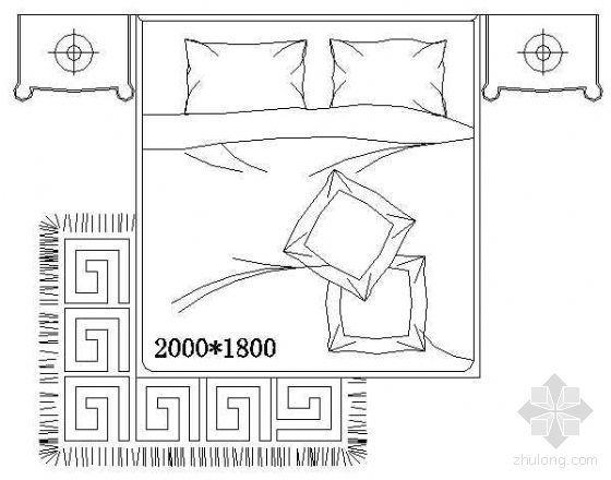 床平面CAD图块2