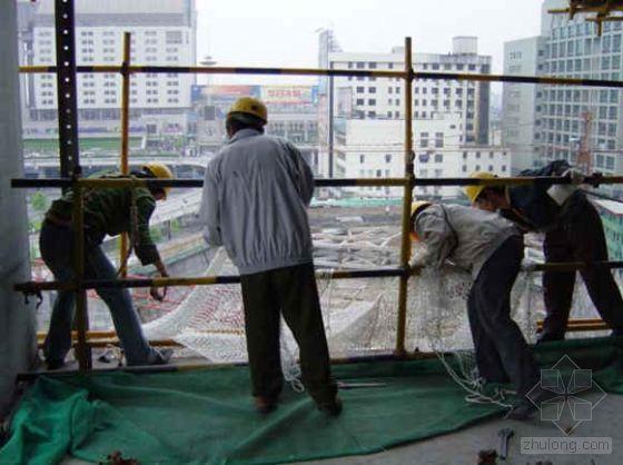 南宁市某高层商住楼工程脚手架施工方案(落地式双排脚手架、悬挑式外脚手架)