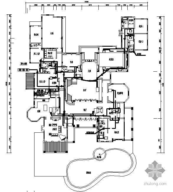 某别墅中央空调课程设计