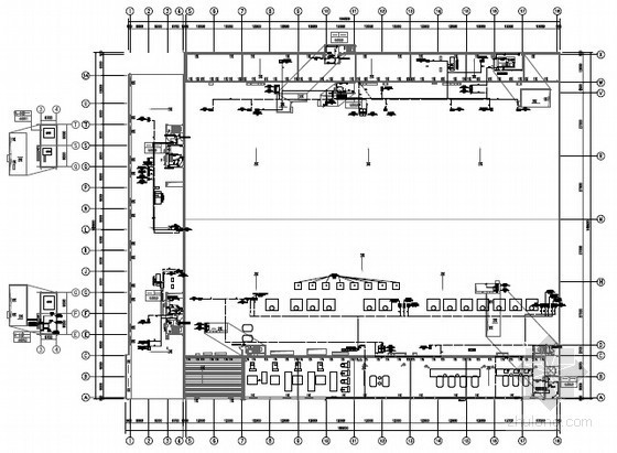 [上海]厂房建设部分电力布线图300张(图纸清晰 设计全面)