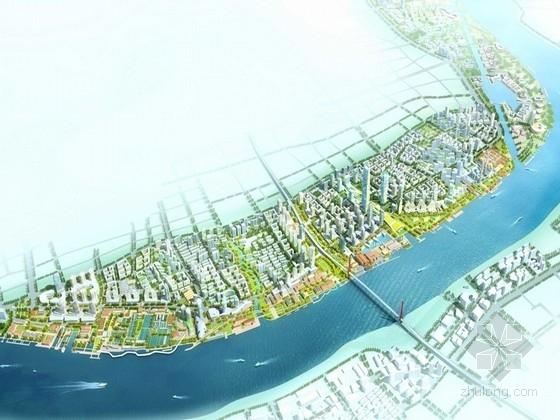 [上海]滨江新区城市规划及单体设计方案文本(知名公司设计)