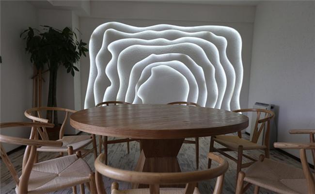 成都素食餐厅设计装修效果图