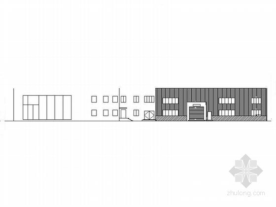 [安徽]两层钢结构带维修车间4S汽车店建筑施工图(含水暖电)