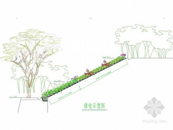[重庆]生态袋边坡防护施工图