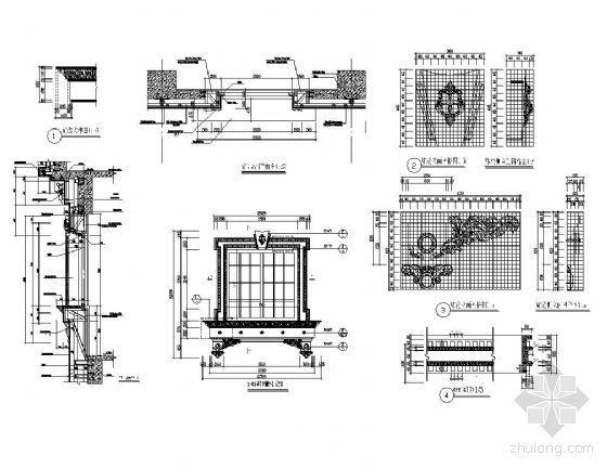 欧式建筑窗详图4