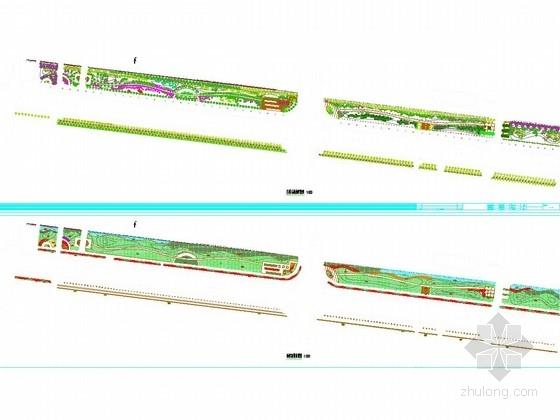 [安徽]30000平方米工业园区道路景观工程设计图44张
