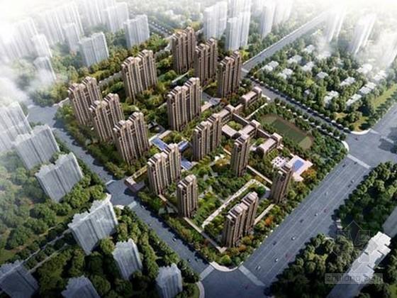 [江苏]大型商住中心工程监理规划(34栋建筑)