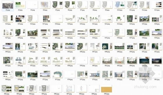 [武汉]典雅住宅小区及售楼处附属绿地景观扩初设计方案(知名设计公-缩略图