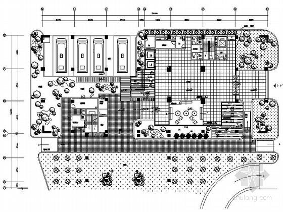 [广东]独创省级国家权力机关办公楼室内装修施工图(含实景)