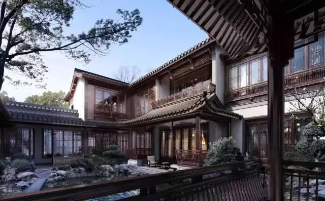 """宋卫平的又一""""江南名园"""",四重庭院98-210㎡小别墅!!"""
