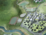 南方科技大学国际竞标13家方案之一(都市实践)