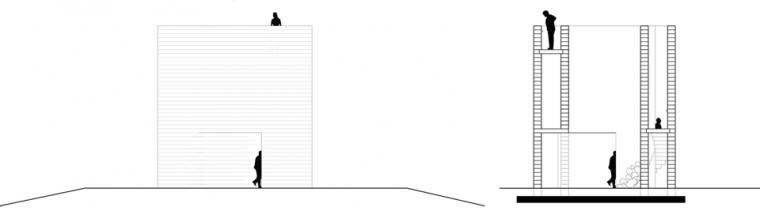 """""""邪恶之路""""上的观景塔,荷兰/NEXTarchitects_16"""
