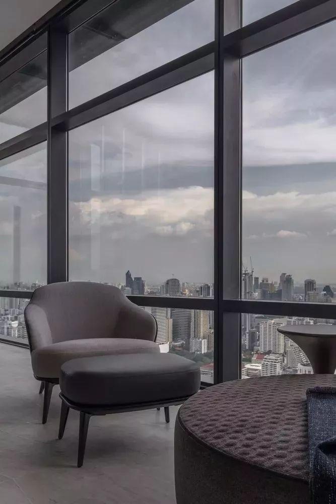 室内设计 130㎡的单身公寓,设计感十足_14