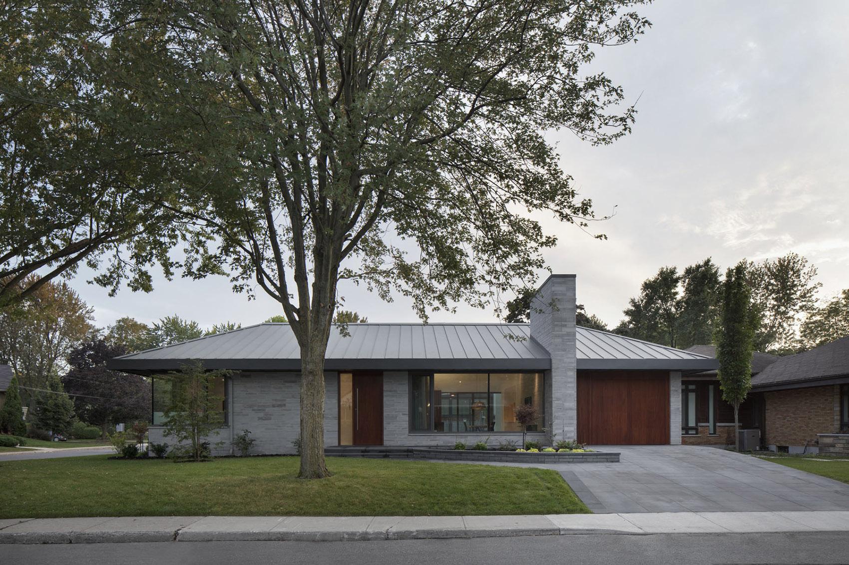 加拿大草原住宅