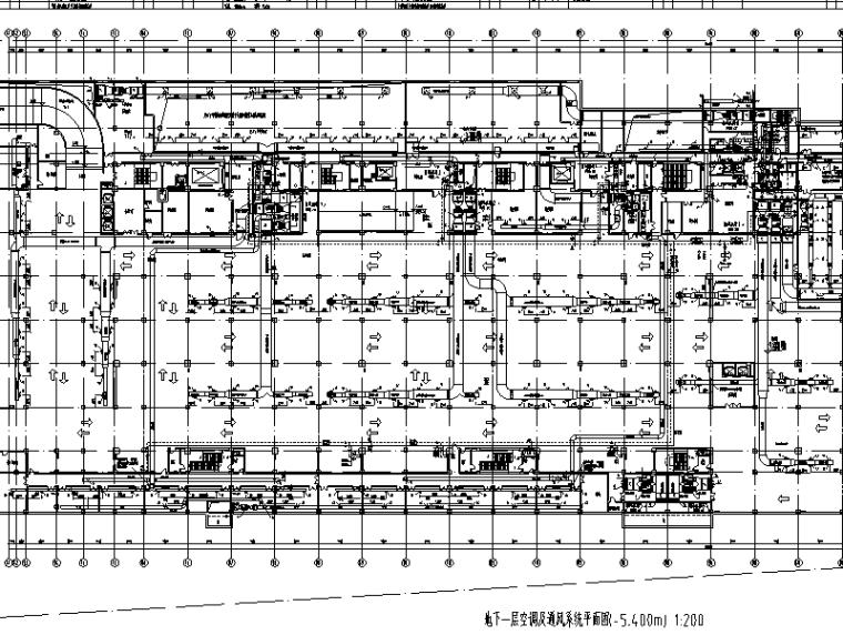 长风商业办公综合楼暖通工程施工图(CAD)