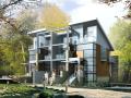 山区小别墅设计CAD施工图附加效果图