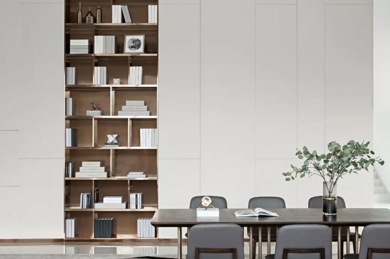 精致材料和简洁配饰,打造出低调素雅的空间_16
