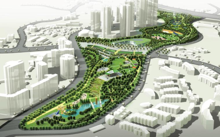 [重庆]鸿恩寺公园入口区及儿童公园景观规划设计