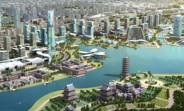 [河南]郑州经济技术开发区整体城市设计中标方案文本(生态,)