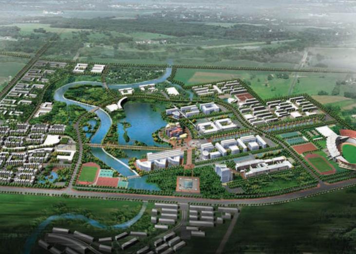 四川大学双流新校区规划方案文本(CAD+PSD+JPG)