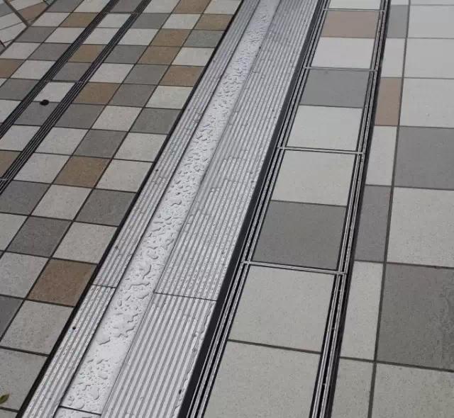 日本景观排水沟的精细化设计解析