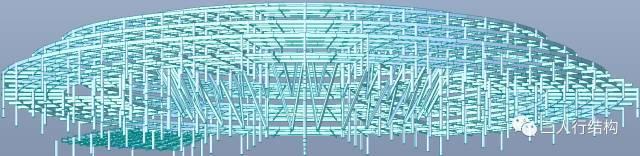 钢结构会展中心项目中穿层柱的设计