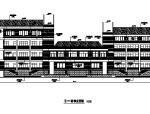 [上海]某中学建筑施工图带总图(含综合楼及教学楼)