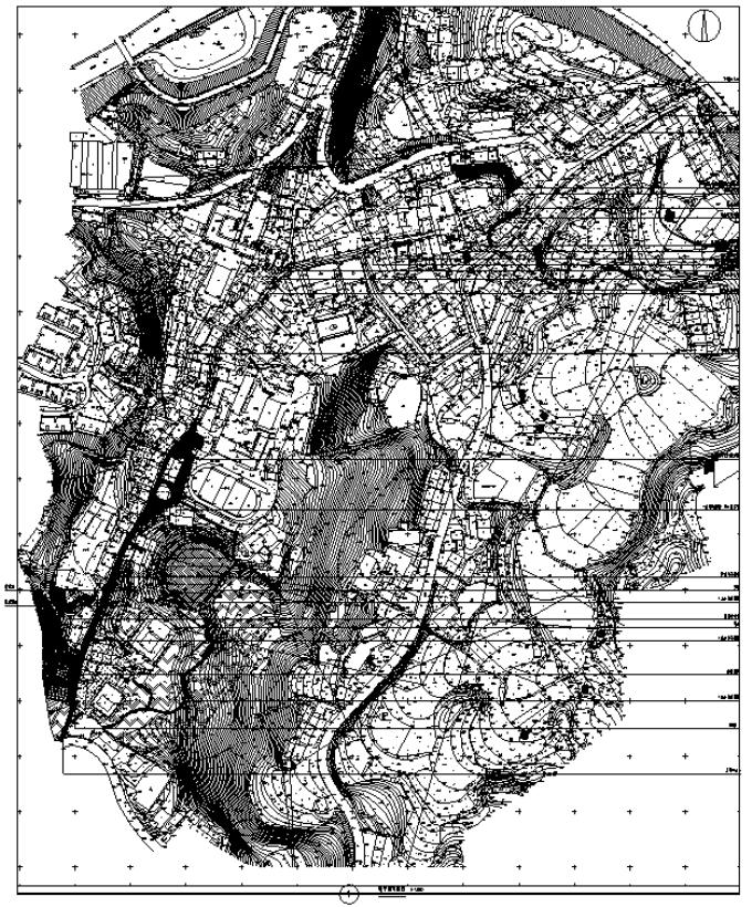 [重庆]历史文化古街特色小镇景观设计提档升级设计施工图(2017年7月最新附PDF施工图)