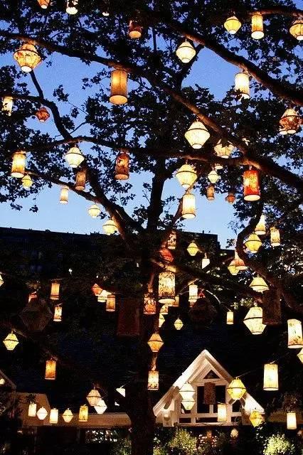 景观灯光设计。当灯光碰上景观,浪漫的夜晚就开始了!_31