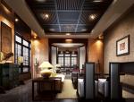 新中式个性几何感客厅