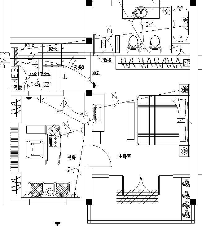 某别墅电气设计图