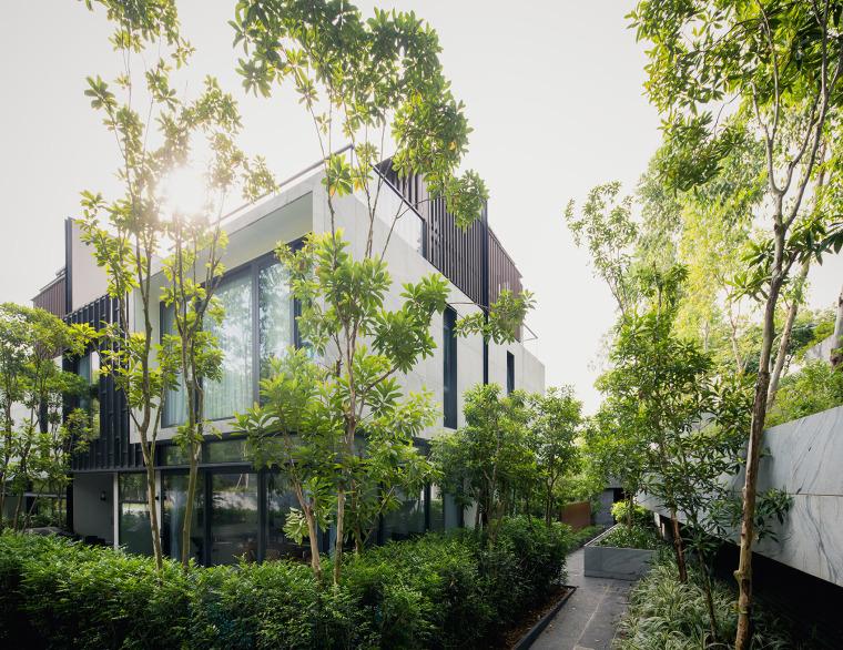 新加坡Asimont别墅景观