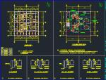 7层钢框架机械制样楼结构施工图
