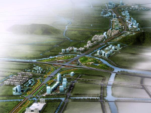 城市道路景观设计方案文本及城市规划设计31套