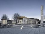 杭州大运河府新中式住宅景观