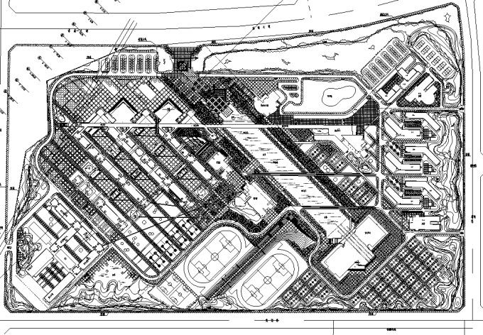 [合集]校园绿地景观规划设计CAD平面图41套-QQ截图20171018202708