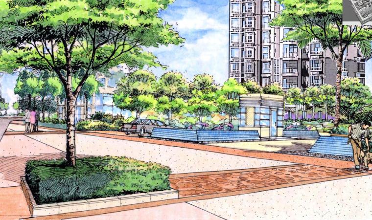 [上海]普陀旧城改造总体景观概念方案设计文本