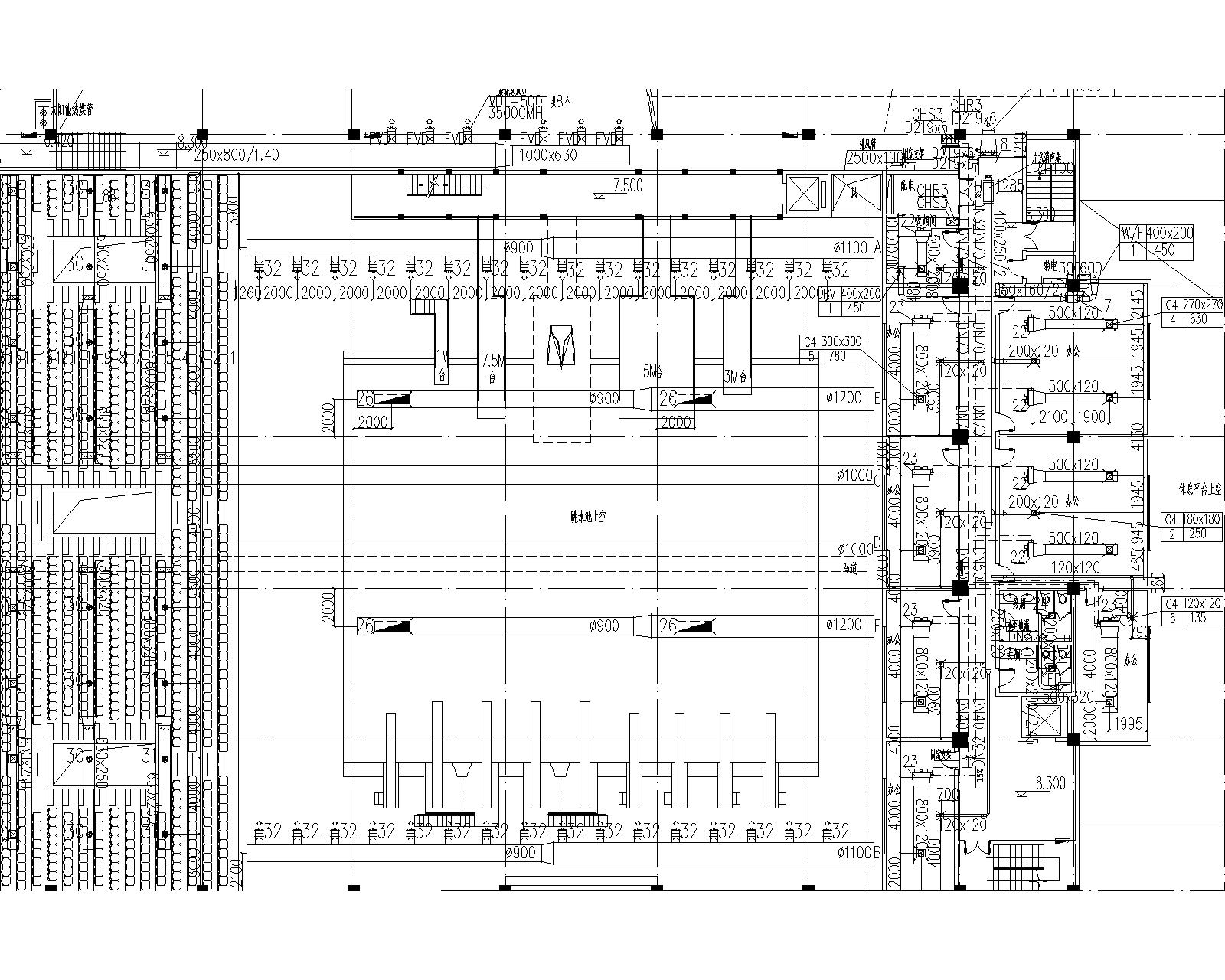 同济-连云港游泳馆暖通设计全套图纸(含冷热源、空调系统、通风系统)_1