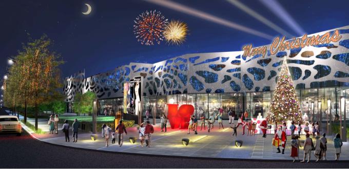 [河北]生态体验式花园绿化商业广场景观设计方案