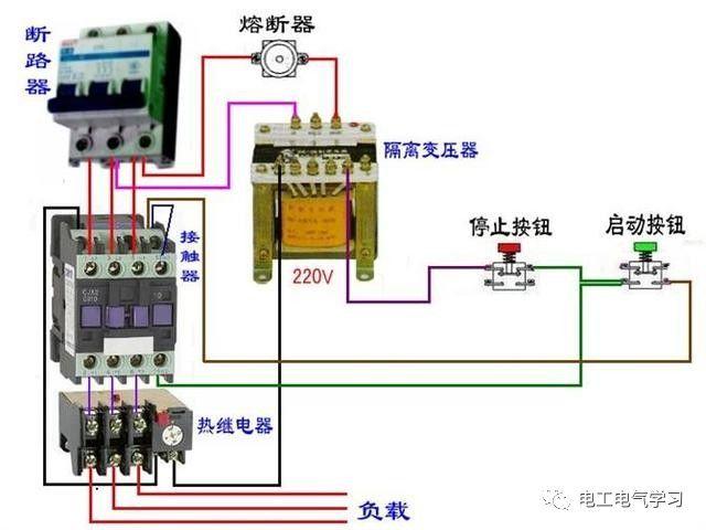 【电工必备】开关照明电机断路器接线图大全非常值得收藏!_53