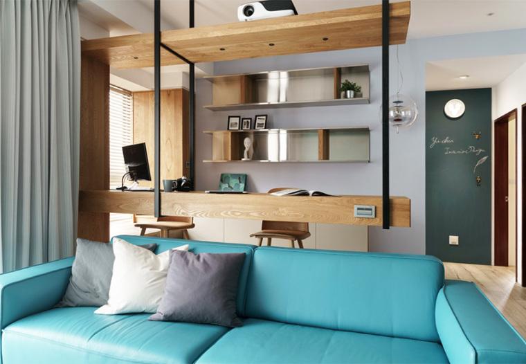 新竹现代风亲子公寓-13