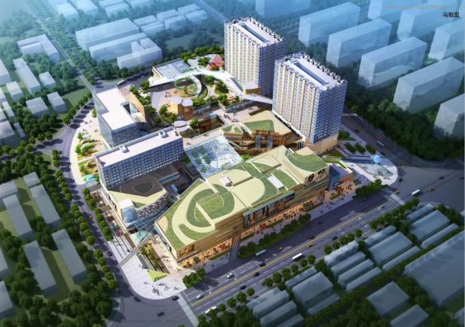 [广东]商业地块景观规划设计方案