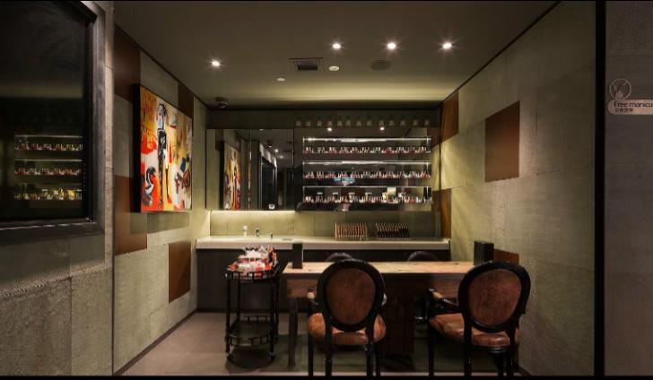 海底捞火锅餐厅室内装修设计效果图方案(19张)