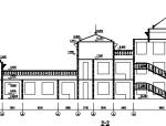 欧式风格某新村幼儿院全套图