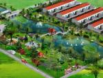 某村庄休闲广场景观