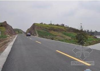 村道公路水毁抢修工程专项施工组织设计(投标)