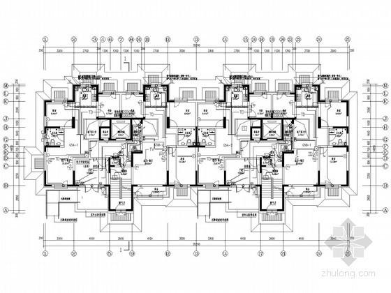 [新疆]大型住宅小区强弱电系统施工图纸134张(含完整计算书)