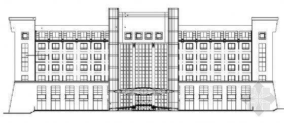 某八层教学大楼建筑施工图