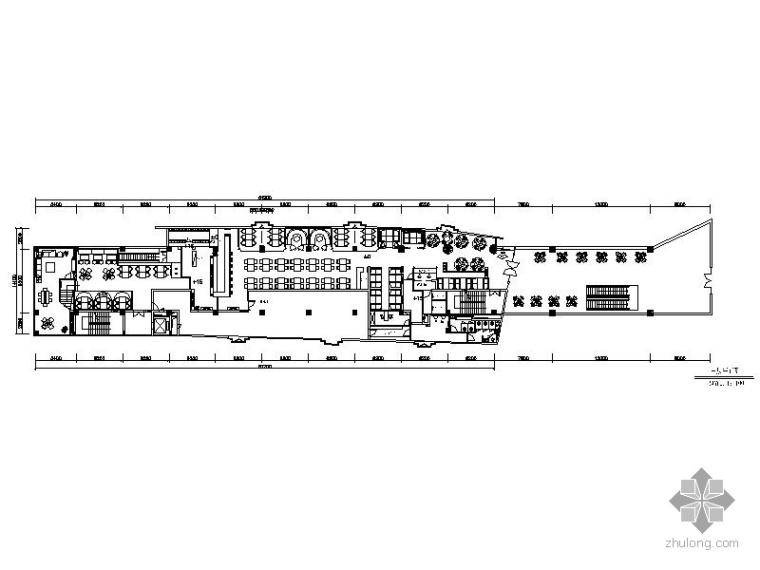 [南京]1088㎡主题餐厅设计图
