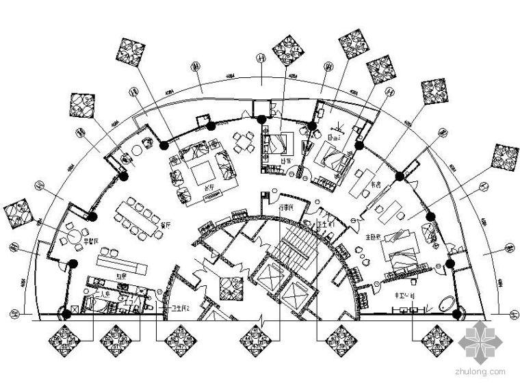 [三亚]首席海景国际公寓施工图